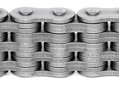 Грузовая пластинчатая многорядная цепь