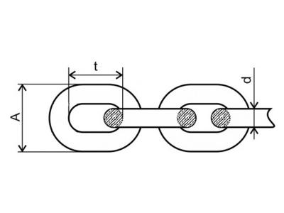Цепь Т8 чертеж